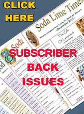 Back Issues of Soda Lime Times for Subscribers
